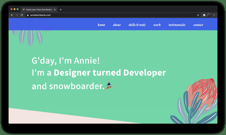 Annie's Portfolio