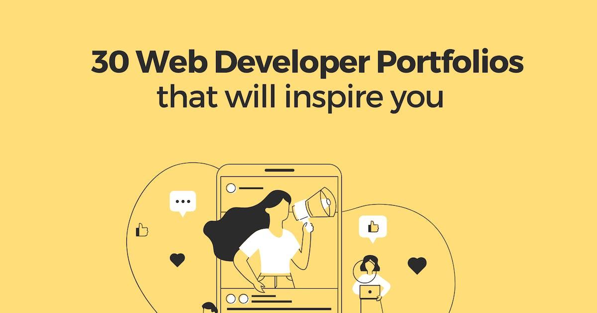 30 Web Developer Portfolios to Inspire You - Hashnode