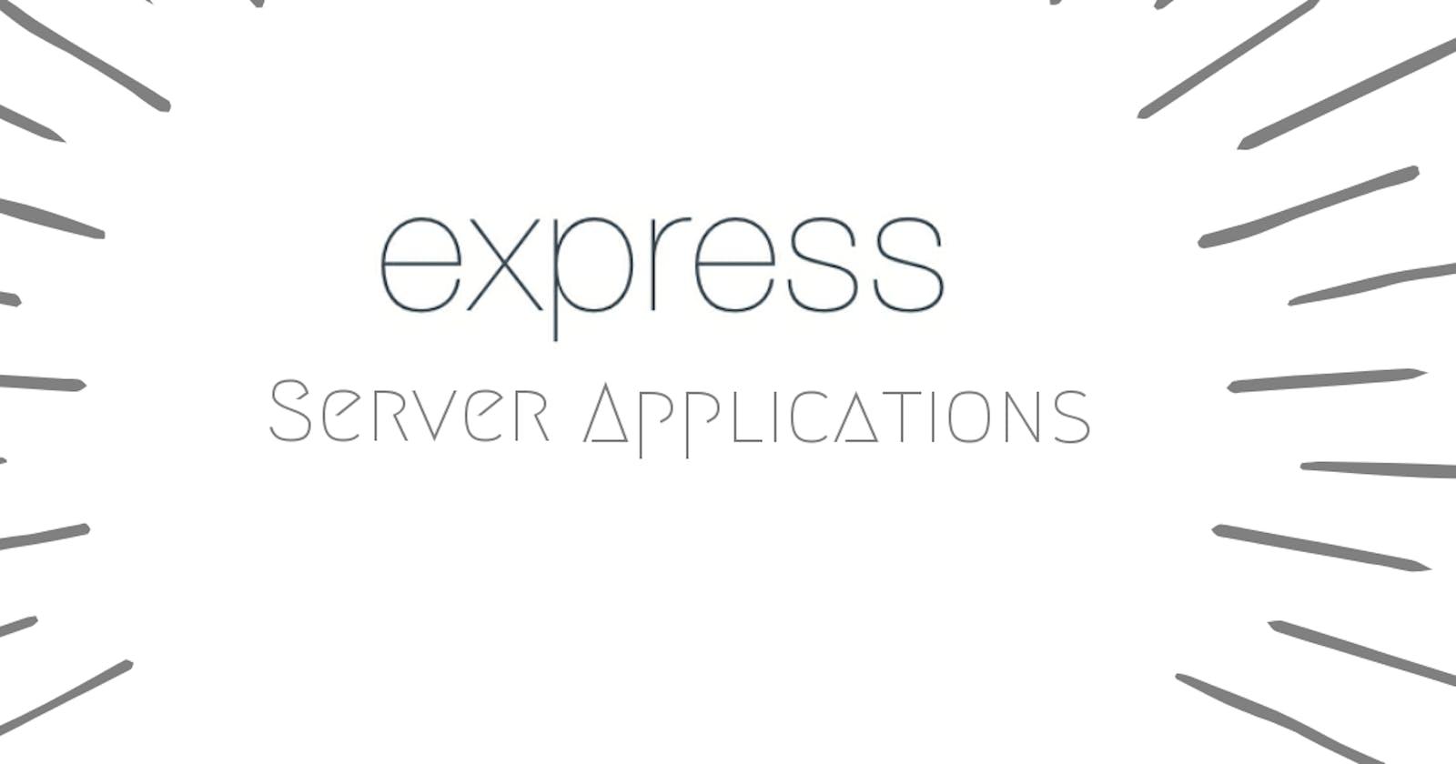express apps