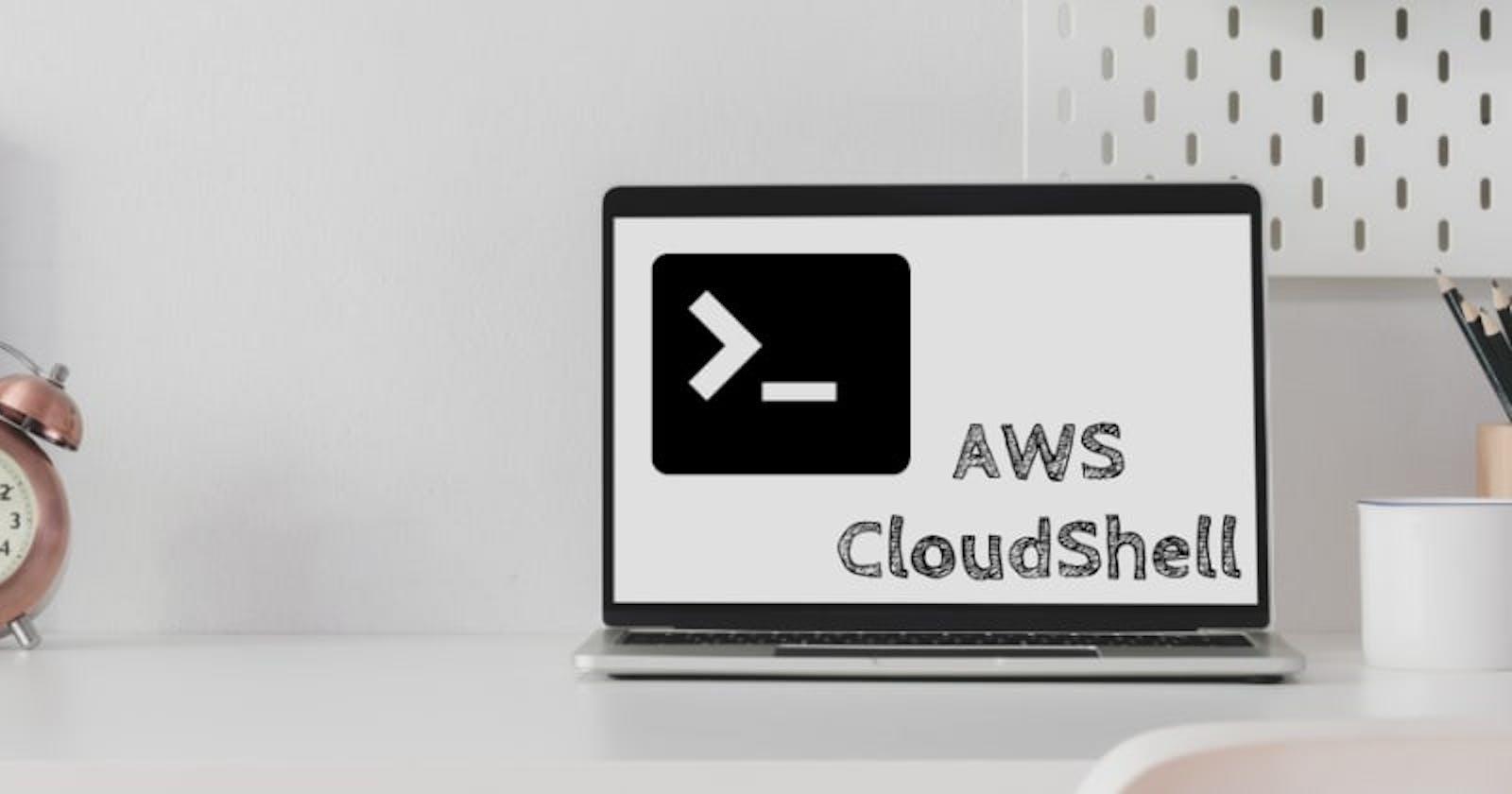 Inicializando AWS CloudShell 3/3