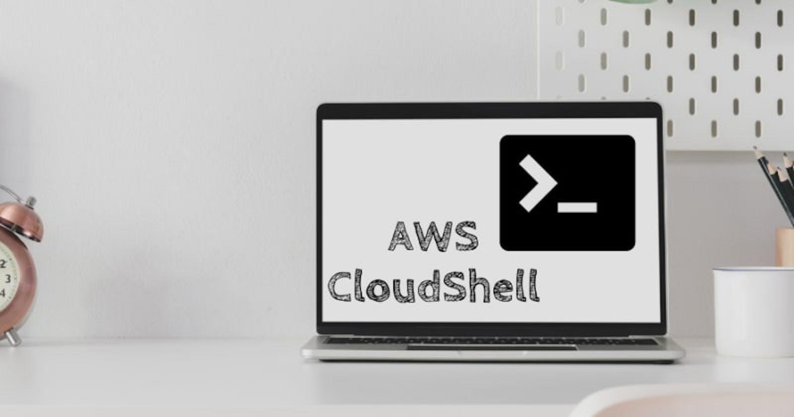 Inicializando AWS CloudShell 2/3