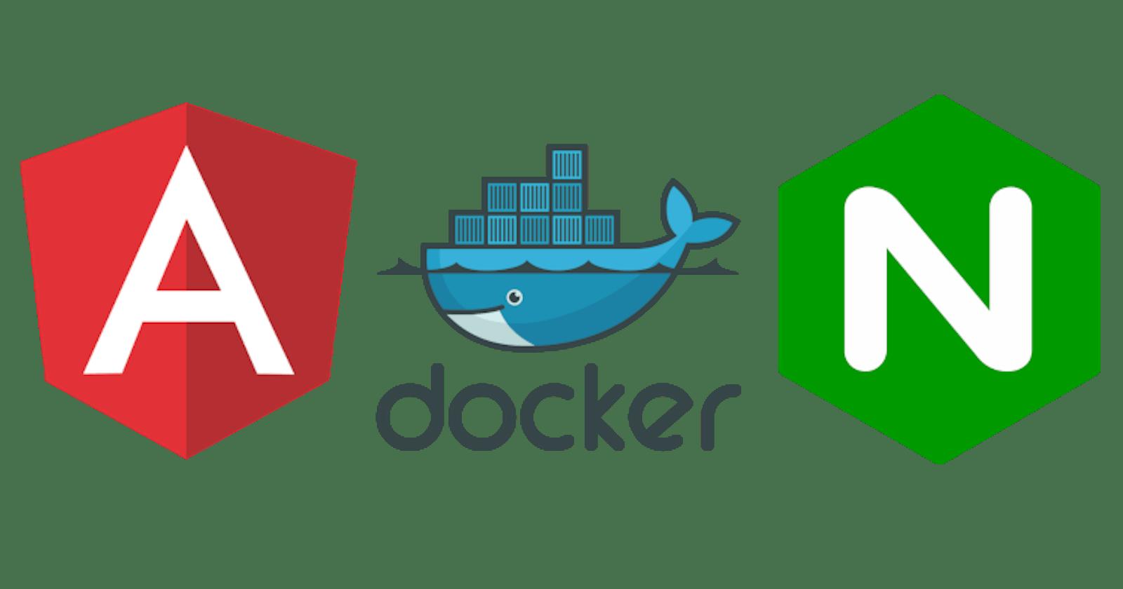 Deploying Angular App with Docker and Nginx