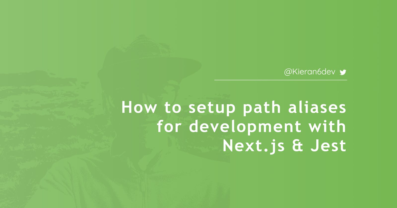 How to setup path aliases for development with Next.js & Jest