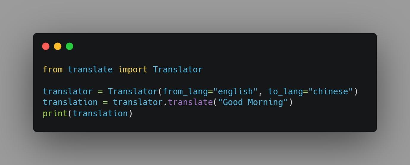 Final Source Code for Text Translator Using Python