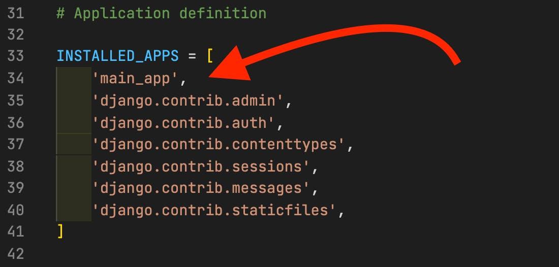 Adding main_app screenshot