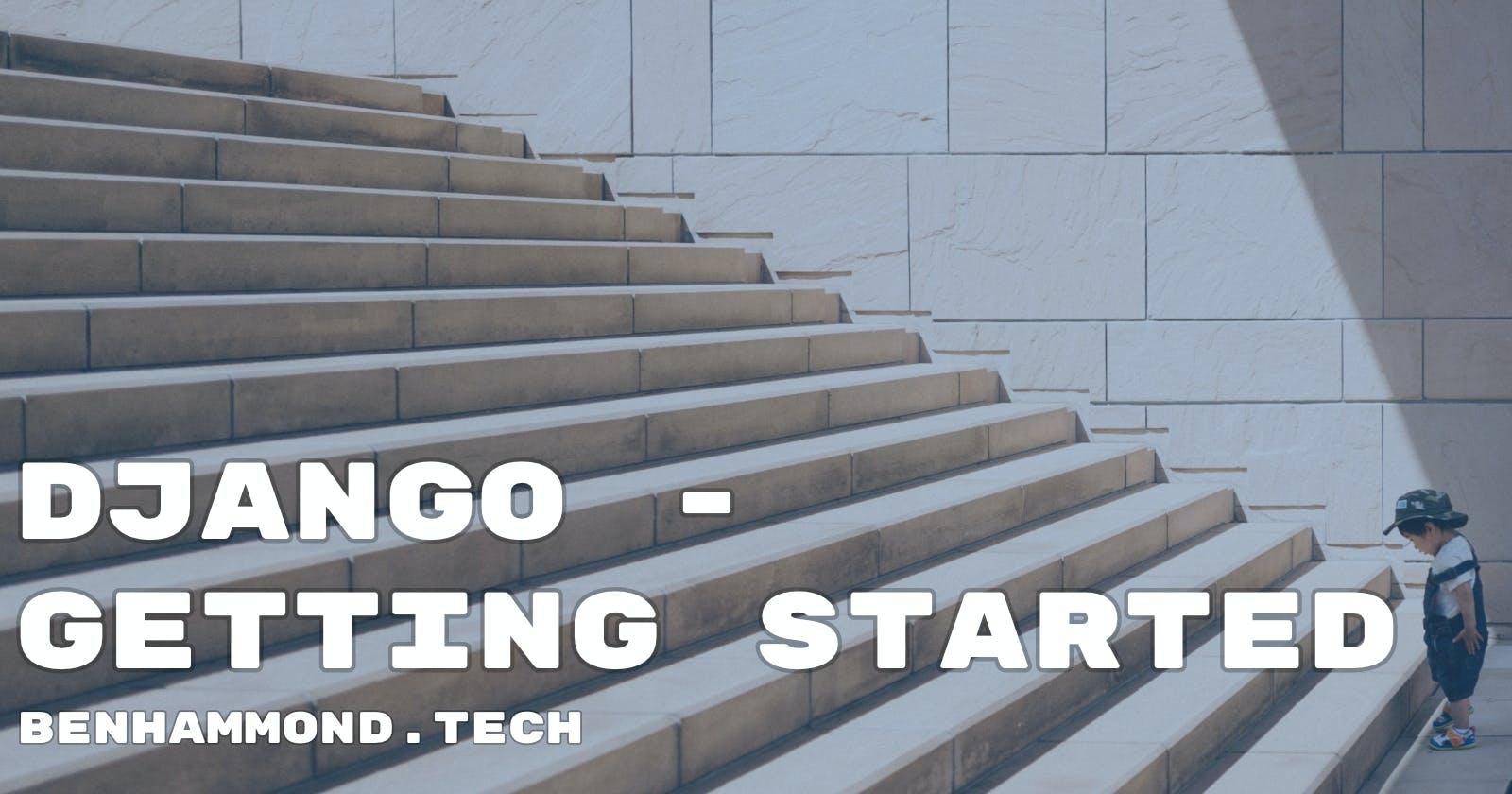 Django - Getting Started