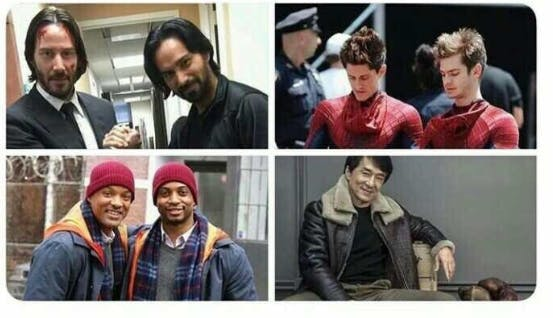 Hollywood actors and their stunts
