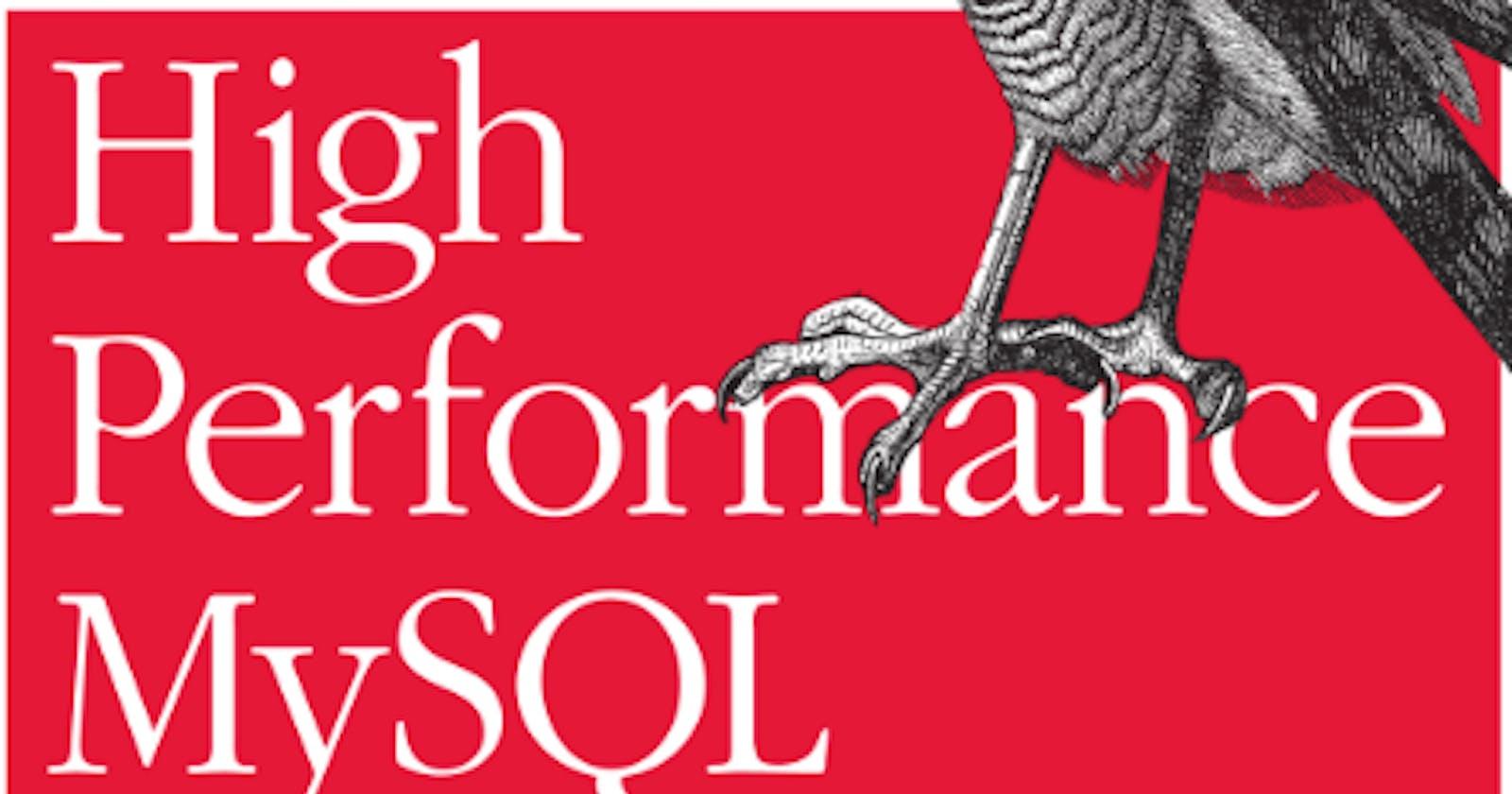 High Performance MySQL [Ch.6   Part 1: Query Performance Optimization]