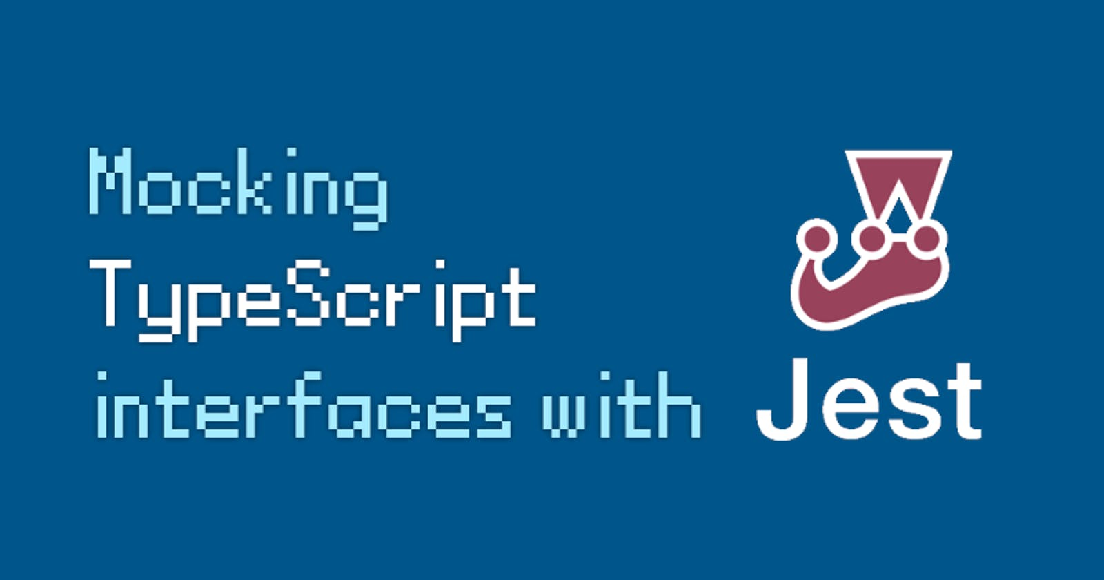 How to mock TypeScript interfaces with Jest