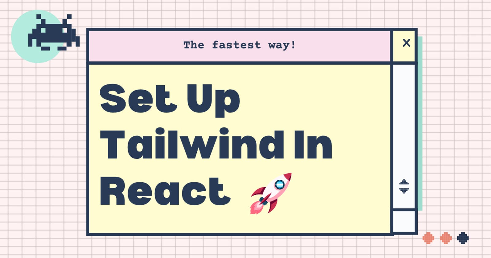 Set Up Tailwind In React - The fastest way! 🚀