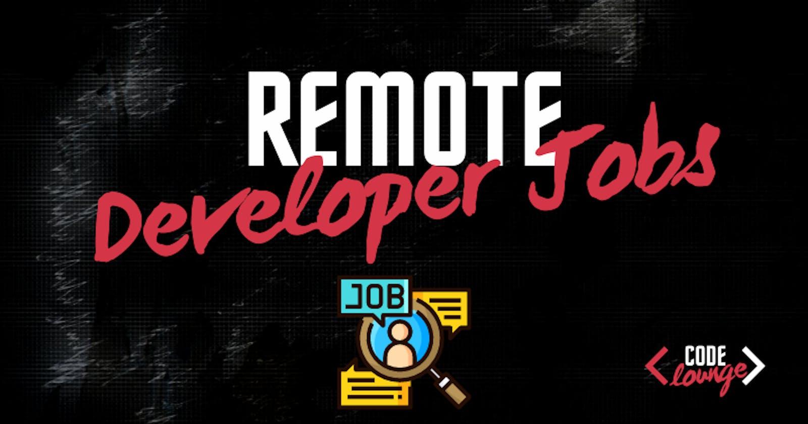 9 Websites To Find Remote Developer Jobs