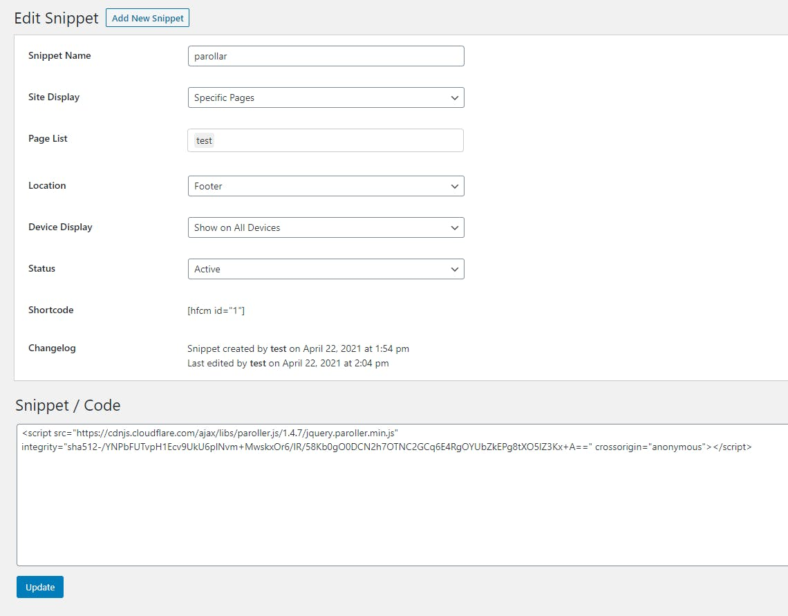 header and footer plugin to add snippets to WordPress website.PNG