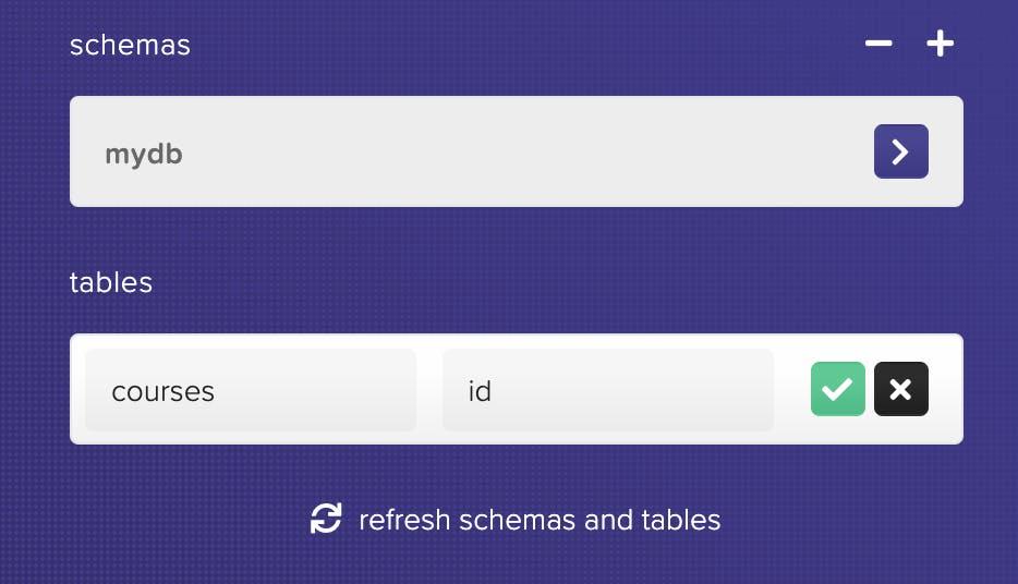 HarperDB Create Table