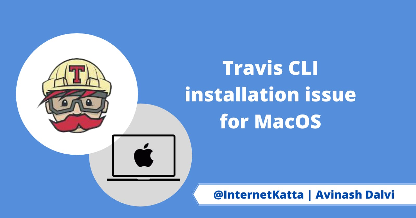 Travis CLI installation issue for MacOS
