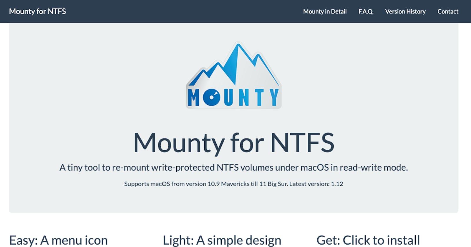 Free Mac NTFS