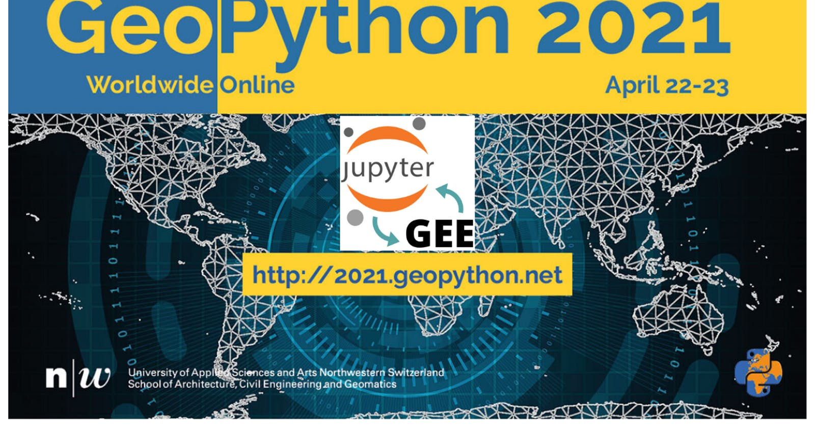 GEE and geemap workshop at GeoPython Conference