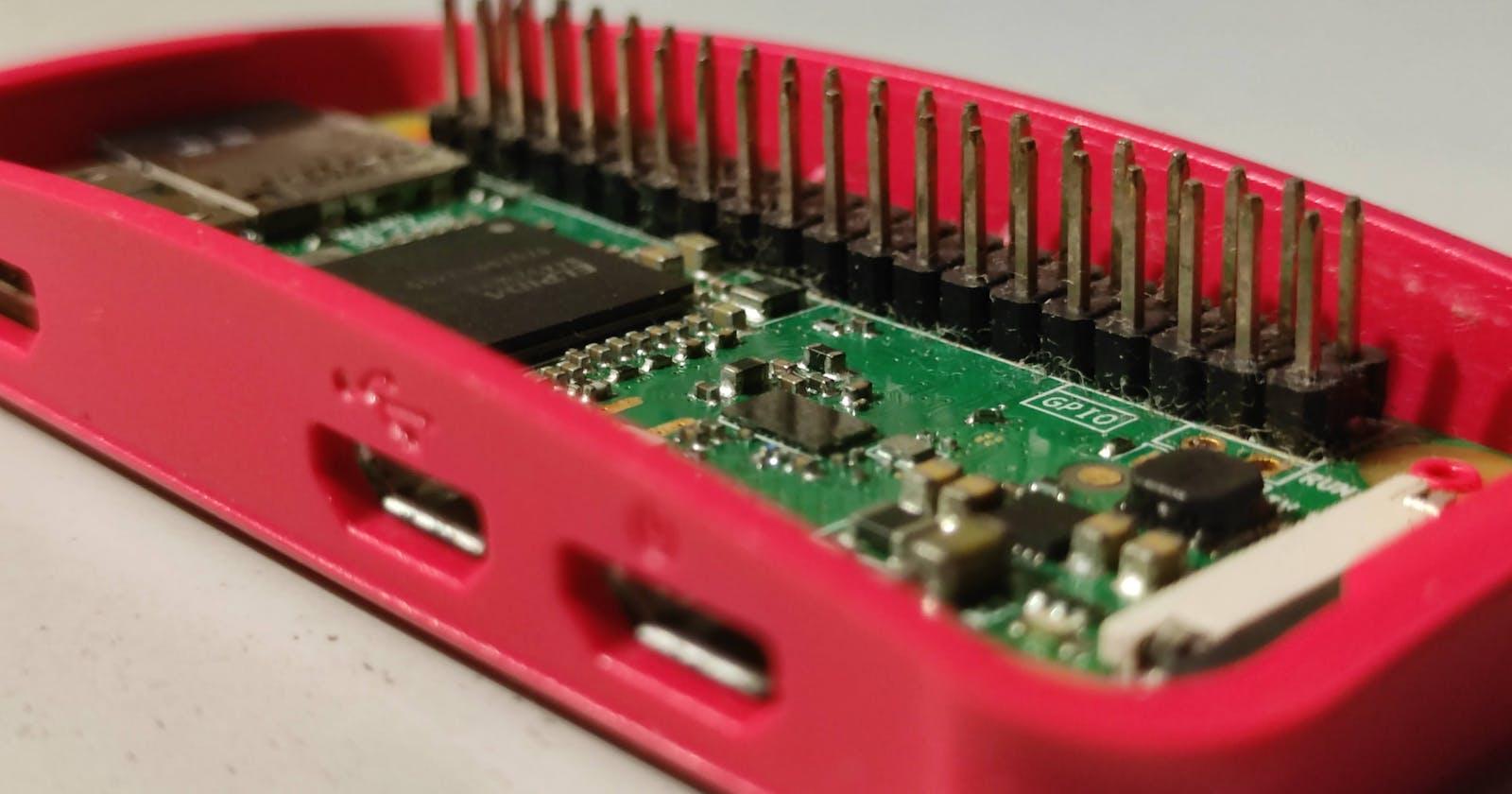 Setting up Raspberry pi to run a web server