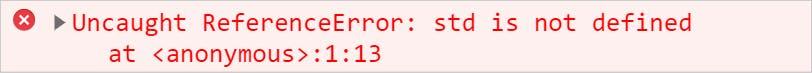 alias reference error