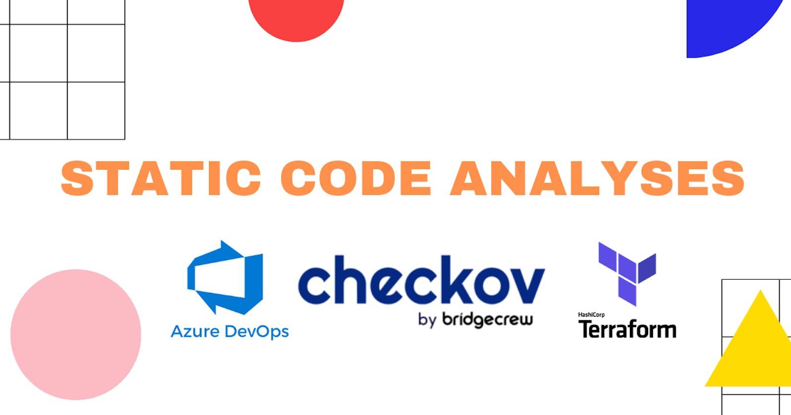 Static Code Analyses - Checkov, Terraform and Azure DevOps