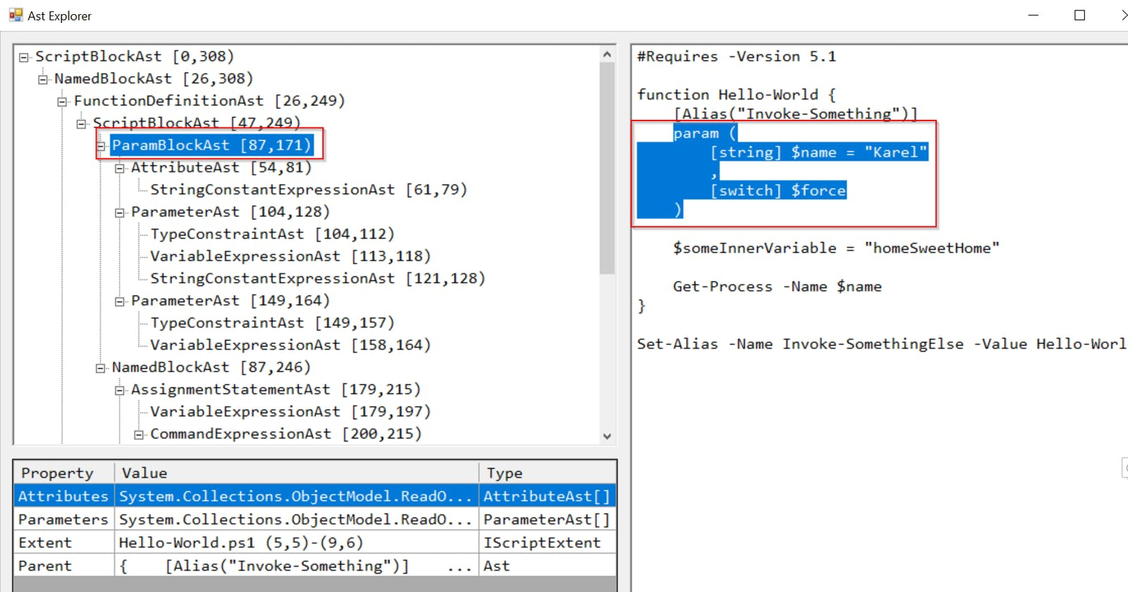 PowerShell AST, your friend when it comes to PowerShell code analysis & extraction
