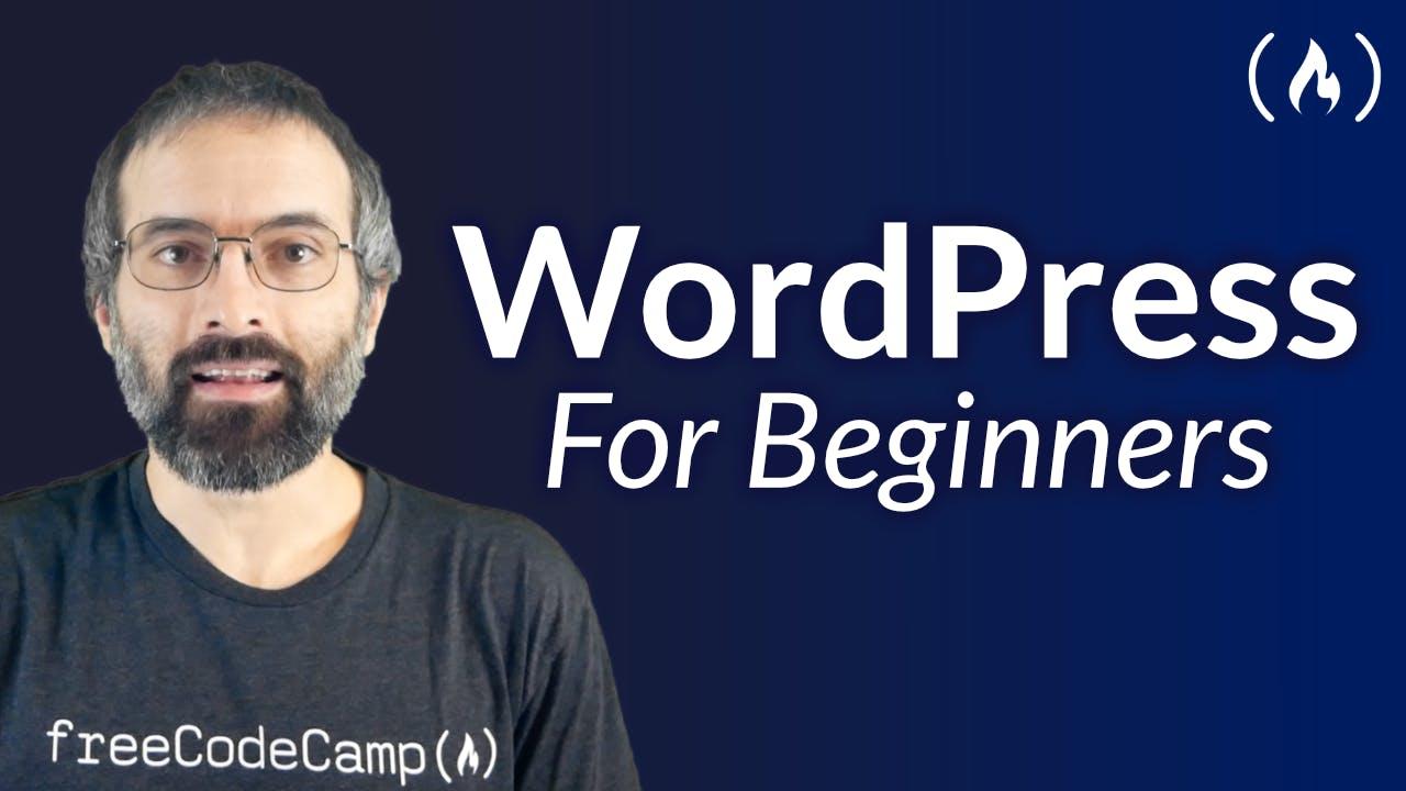 WordPress for Beginners title screen