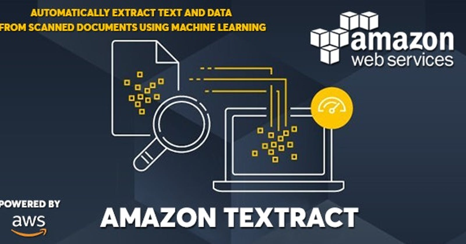 Introduction to Amazon Textract