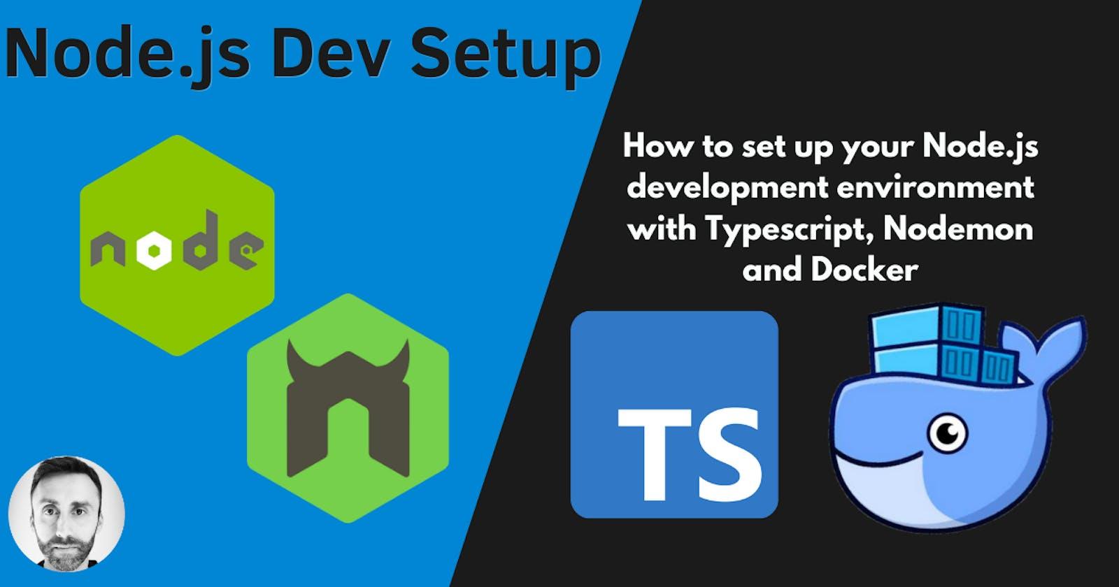 Node.js Development Setup