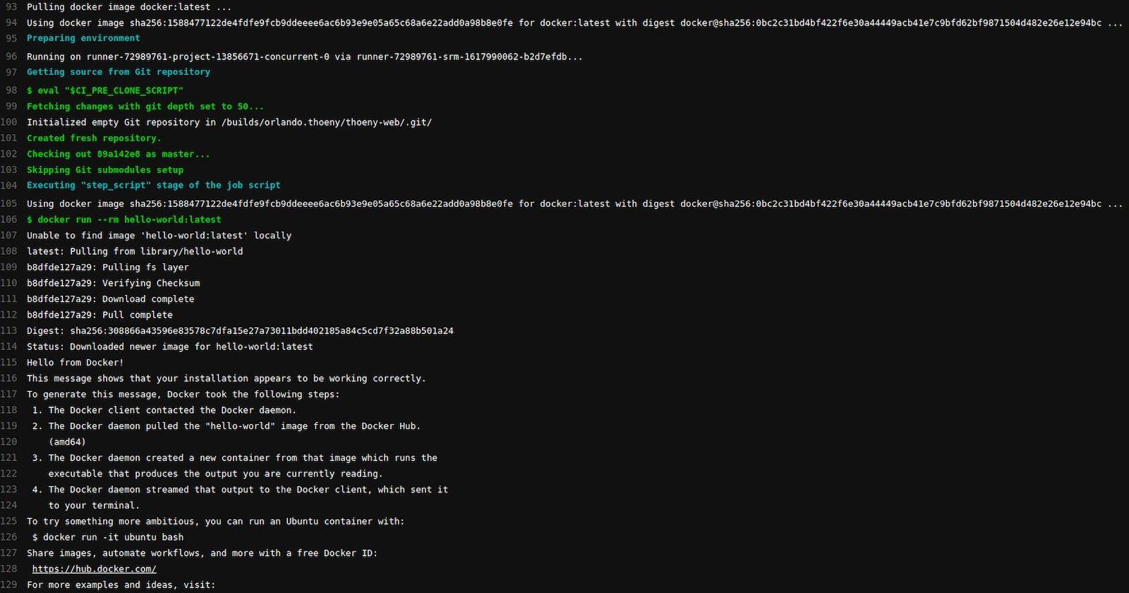 GitLab CI: Docker in Docker (DinD) on gitlab.com Shared Runners