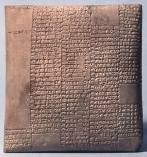 Account of wages paid to workers 4,000 years ago