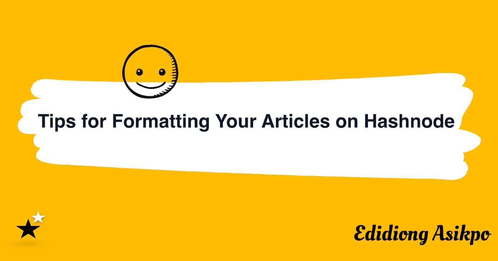 Tips for Formatting Your Articles on Hashnode