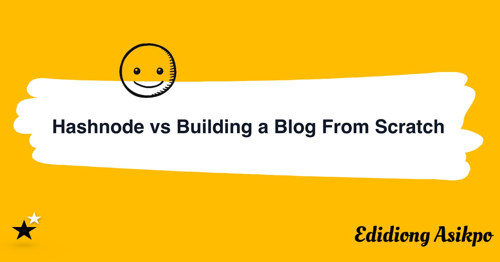 My Thoughts on Using Hashnode vs Building a Blog From Scratch