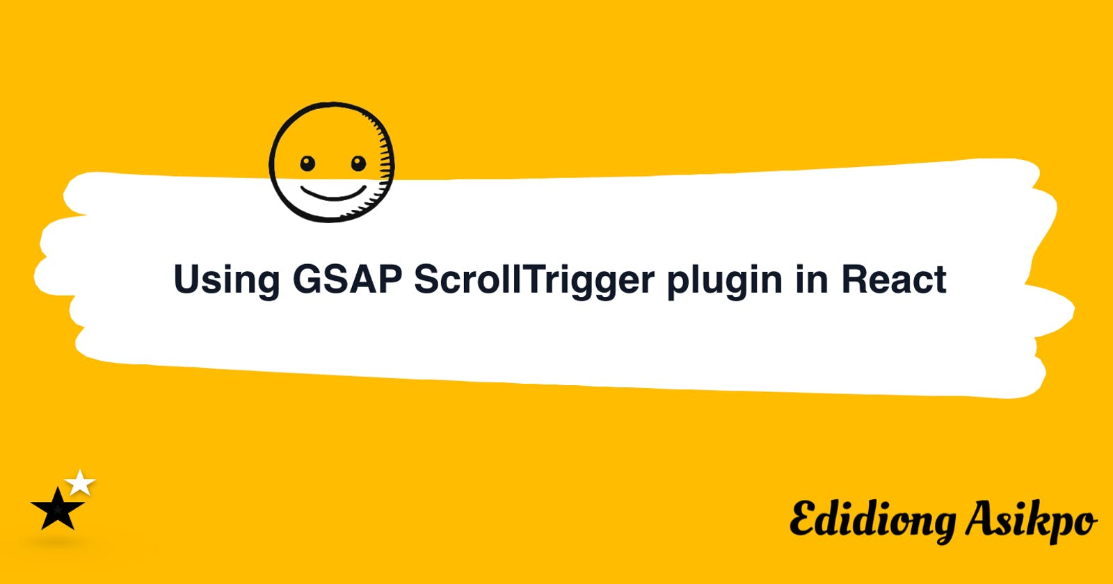 How to use the GSAP ScrollTrigger plugin in React