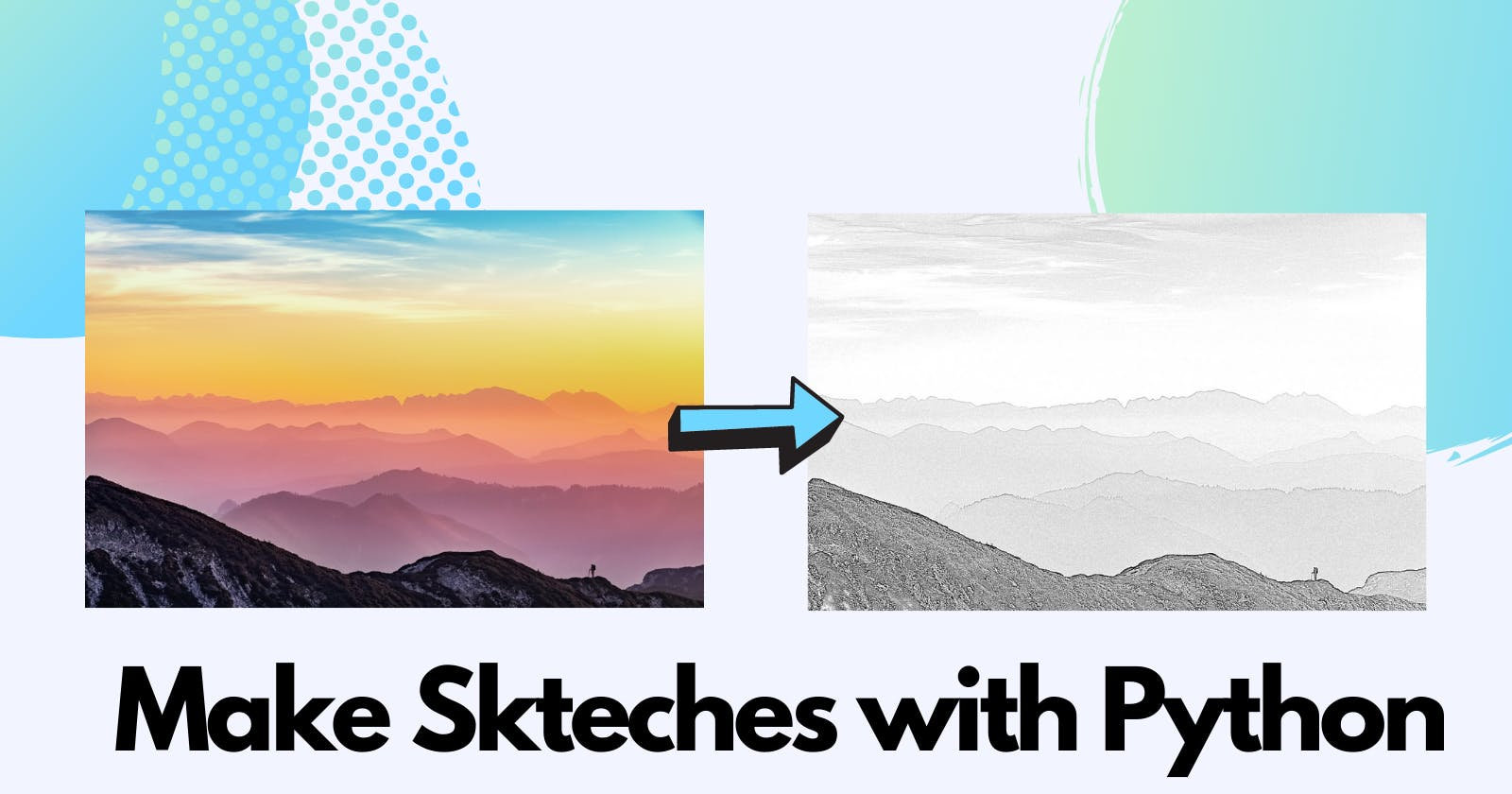 Make beautiful pencil sketches using OpenCV in 9 lines of code
