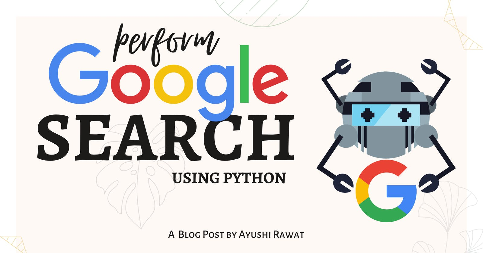 How to Perform Google Search using Python