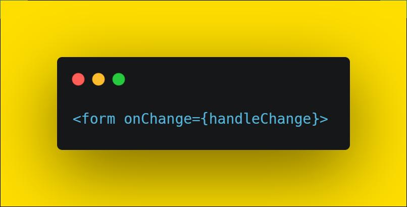add on change event