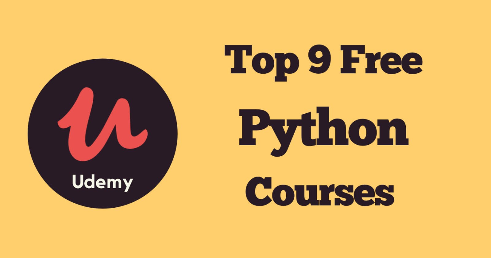 Top 9 Free Udemy Python Courses