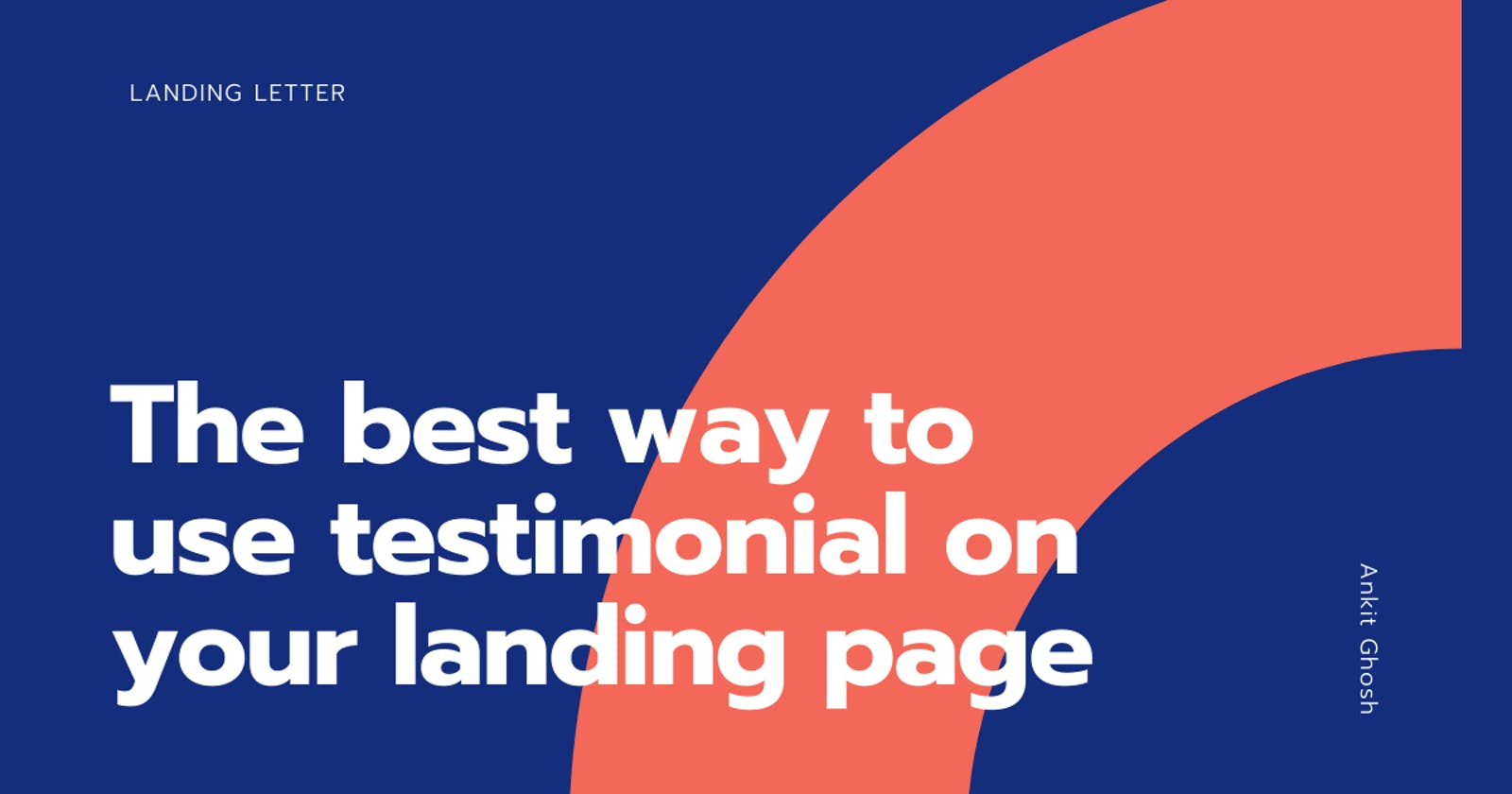 The proper way to write user testimonials on a landing page