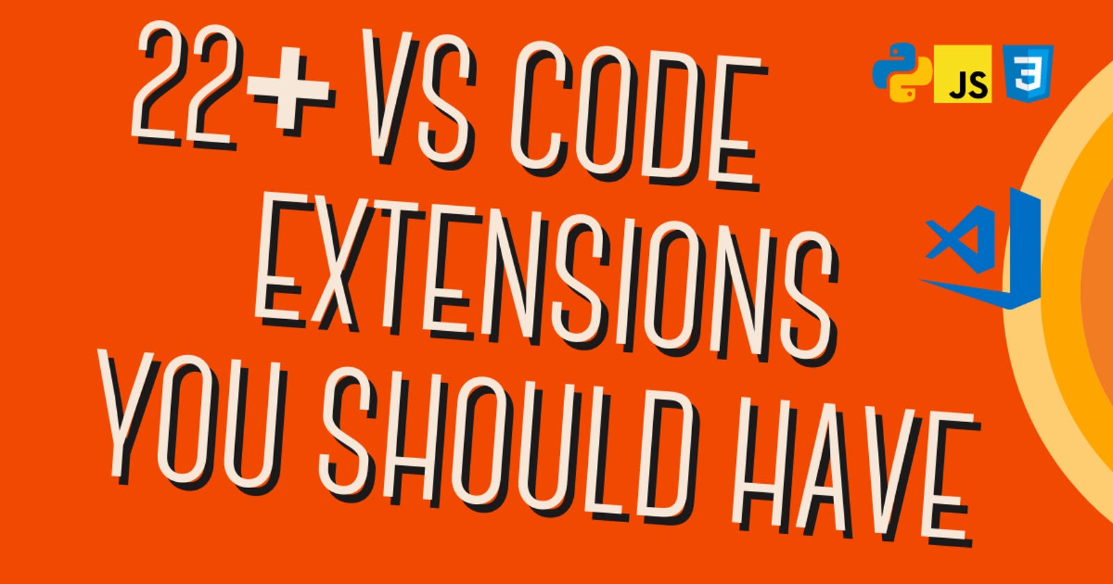 22+ VS Code extension you should have