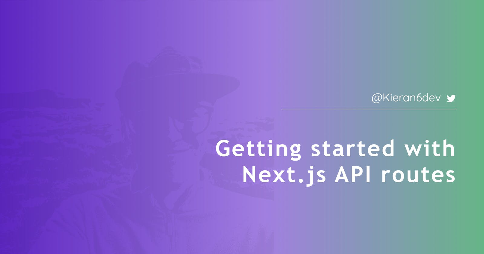 Getting started with Next.js API routes
