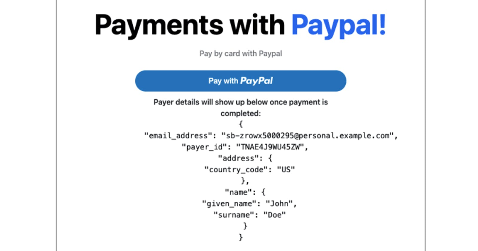 How to collect payments with PayPal in your React application