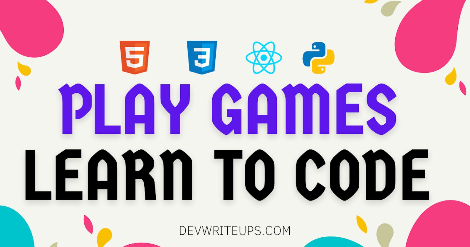 12 websites to learn to code by Playing Games