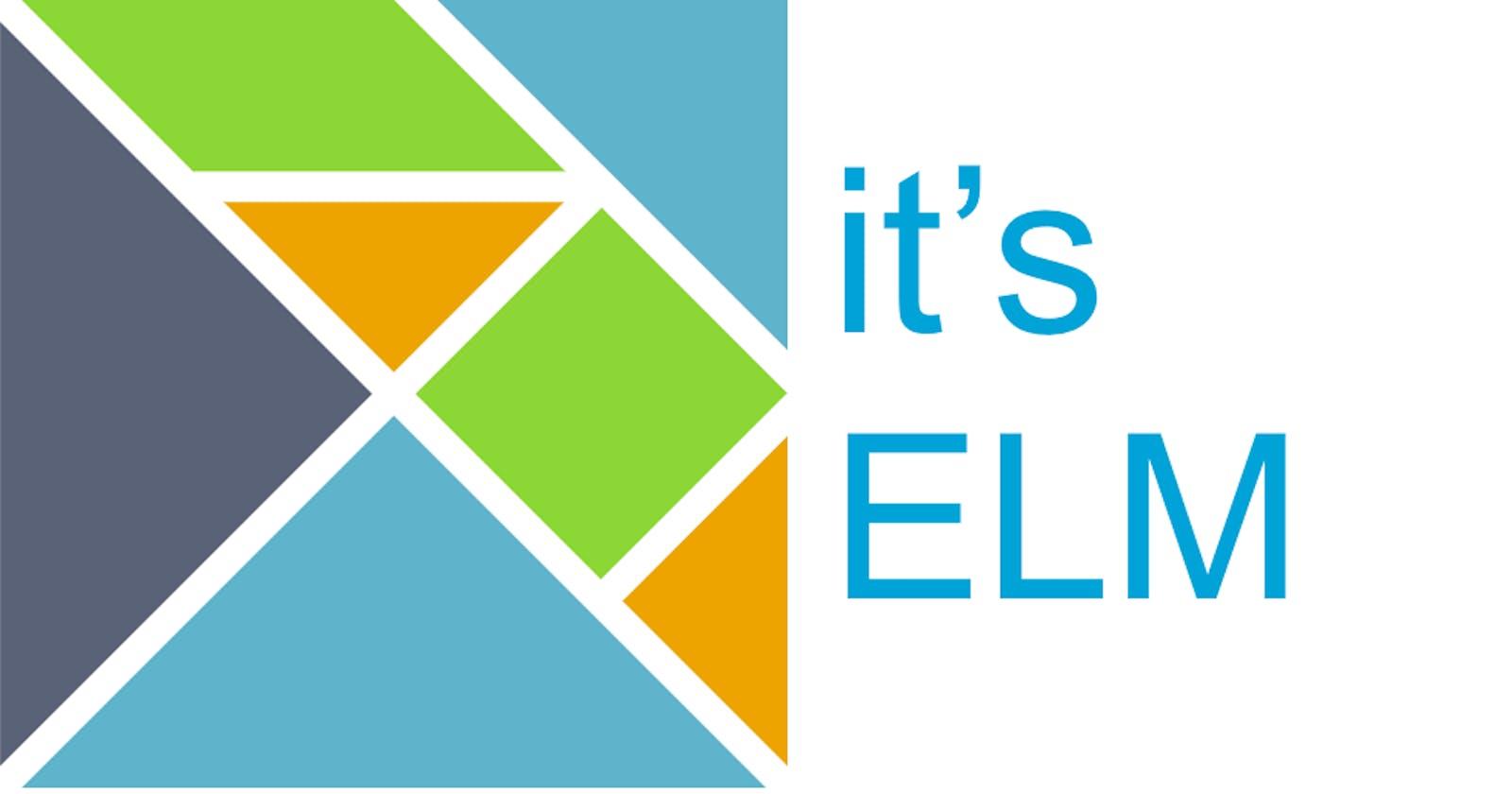 Experimenting Elm
