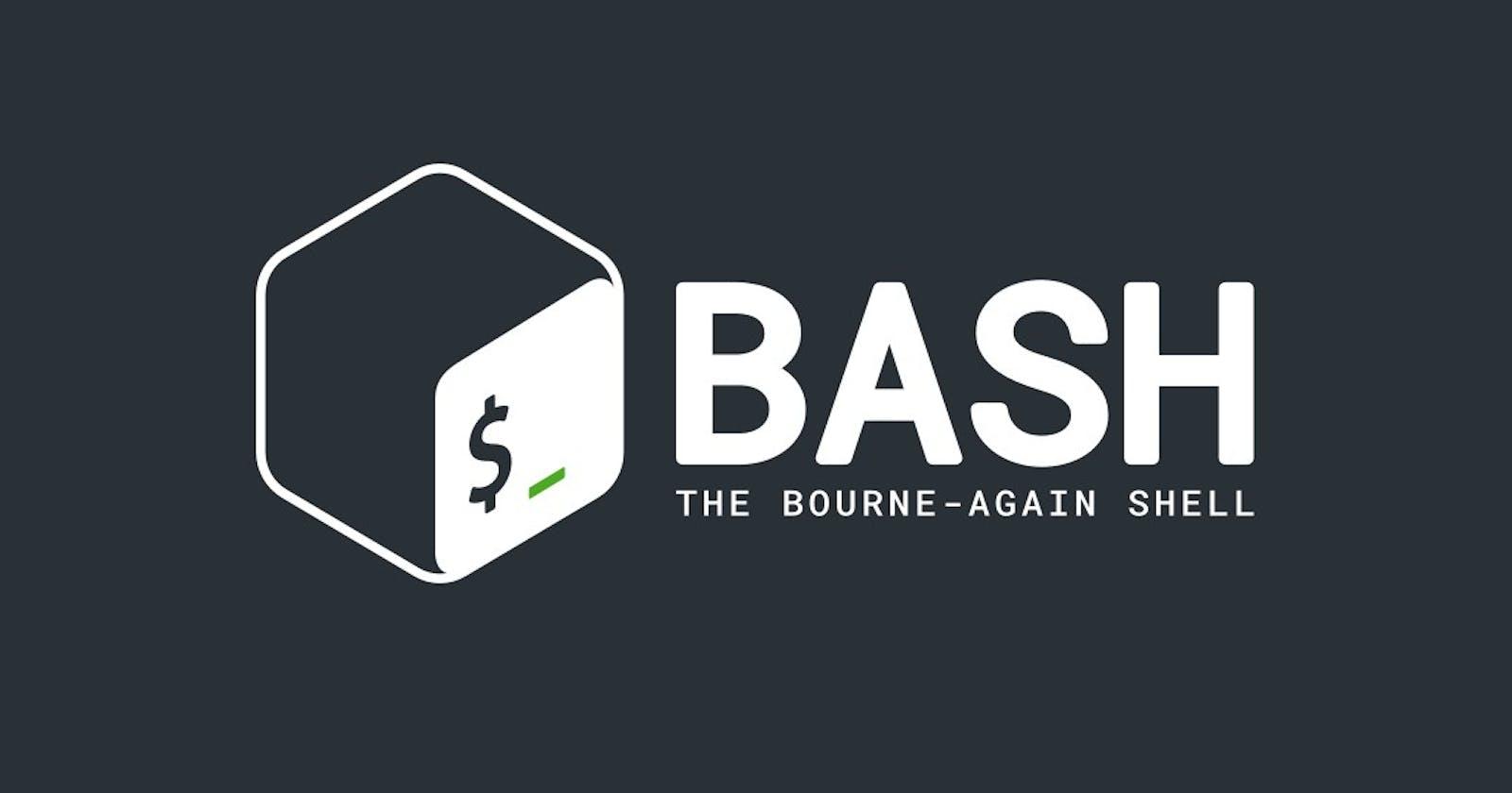 Bash Command Fix