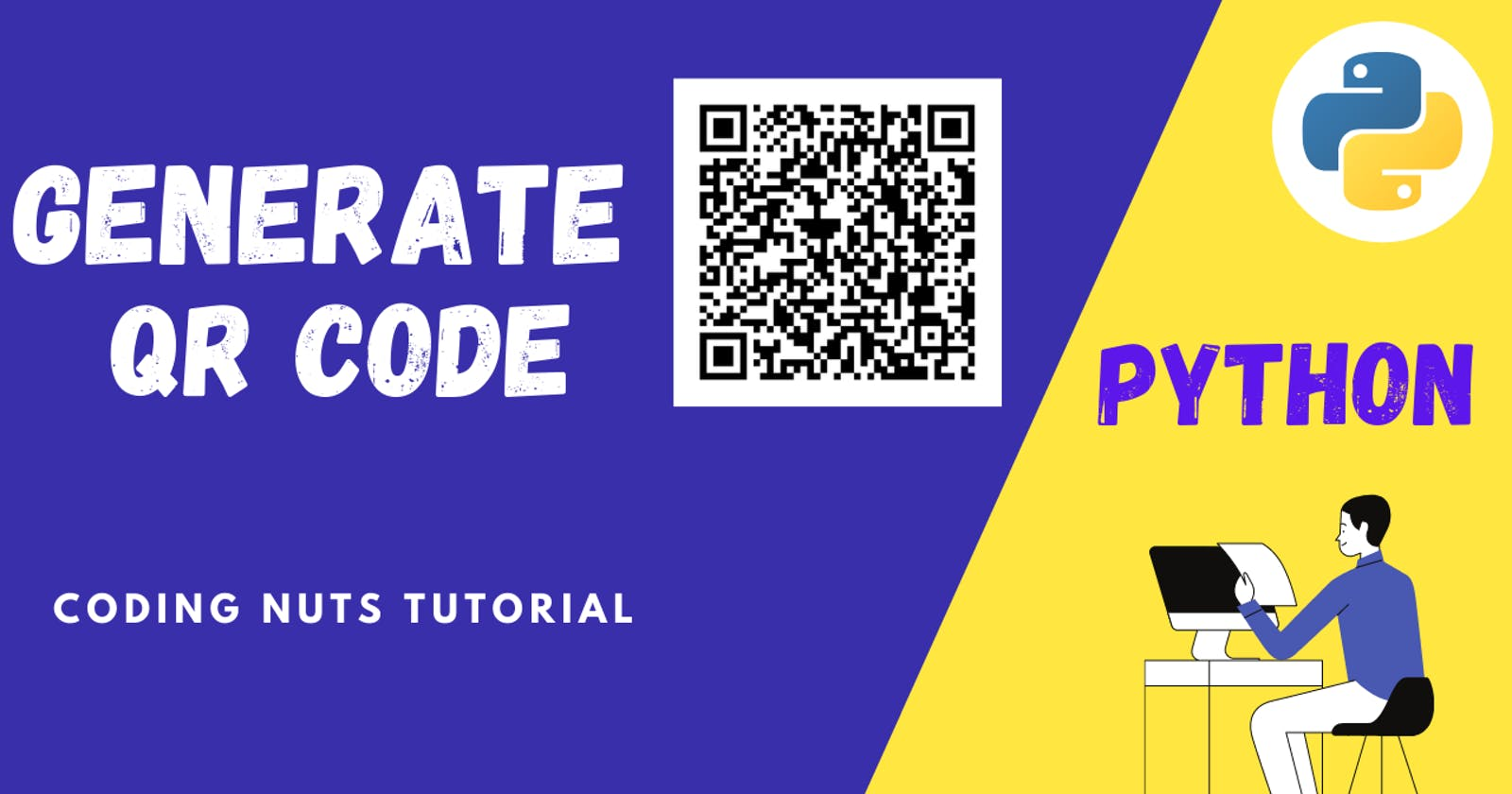 QR CODE IN 3 LINES OF PYTHON CODE | Generate And Access QR Code Easily