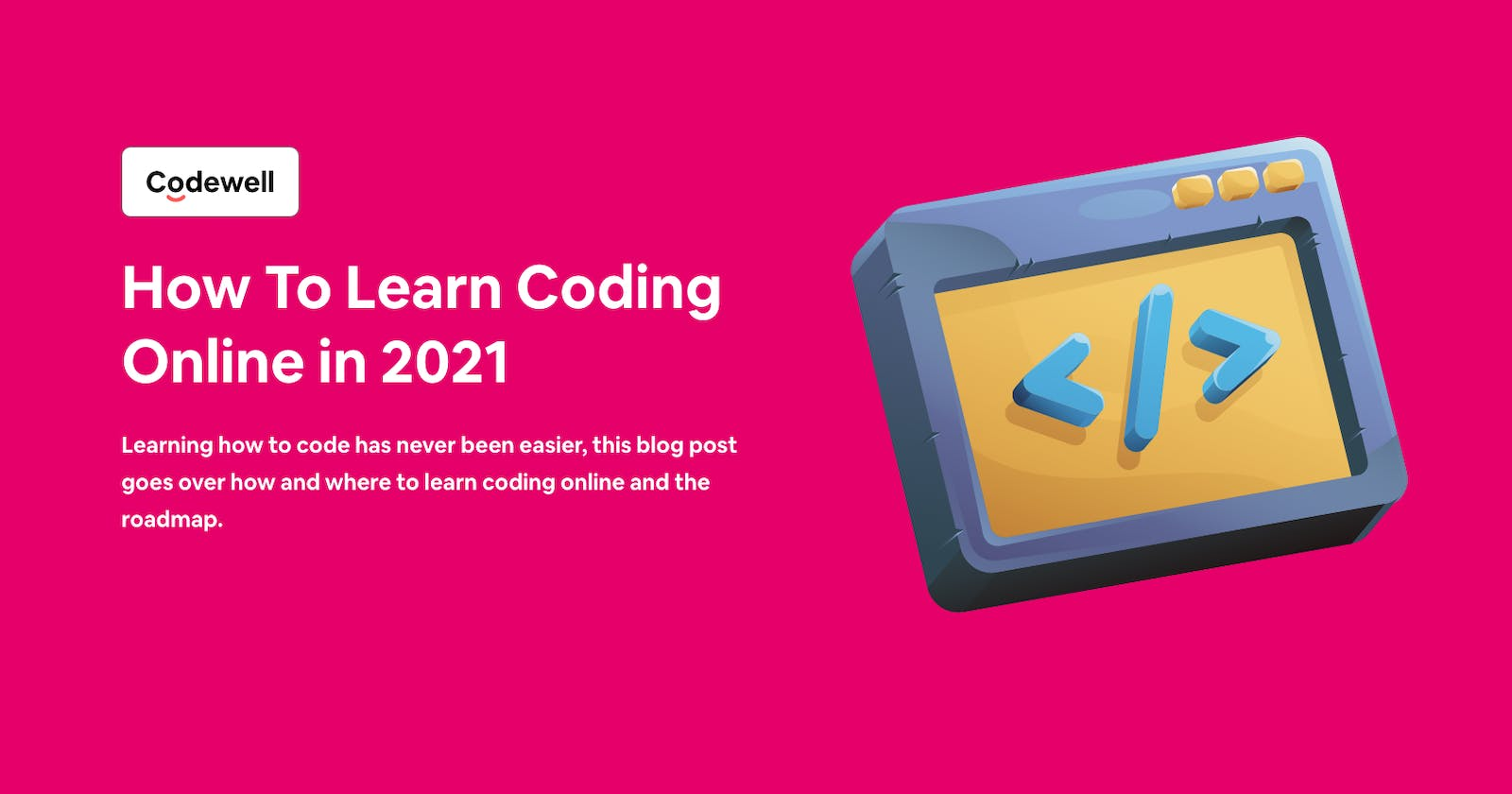How To Learn Coding Online in 2021