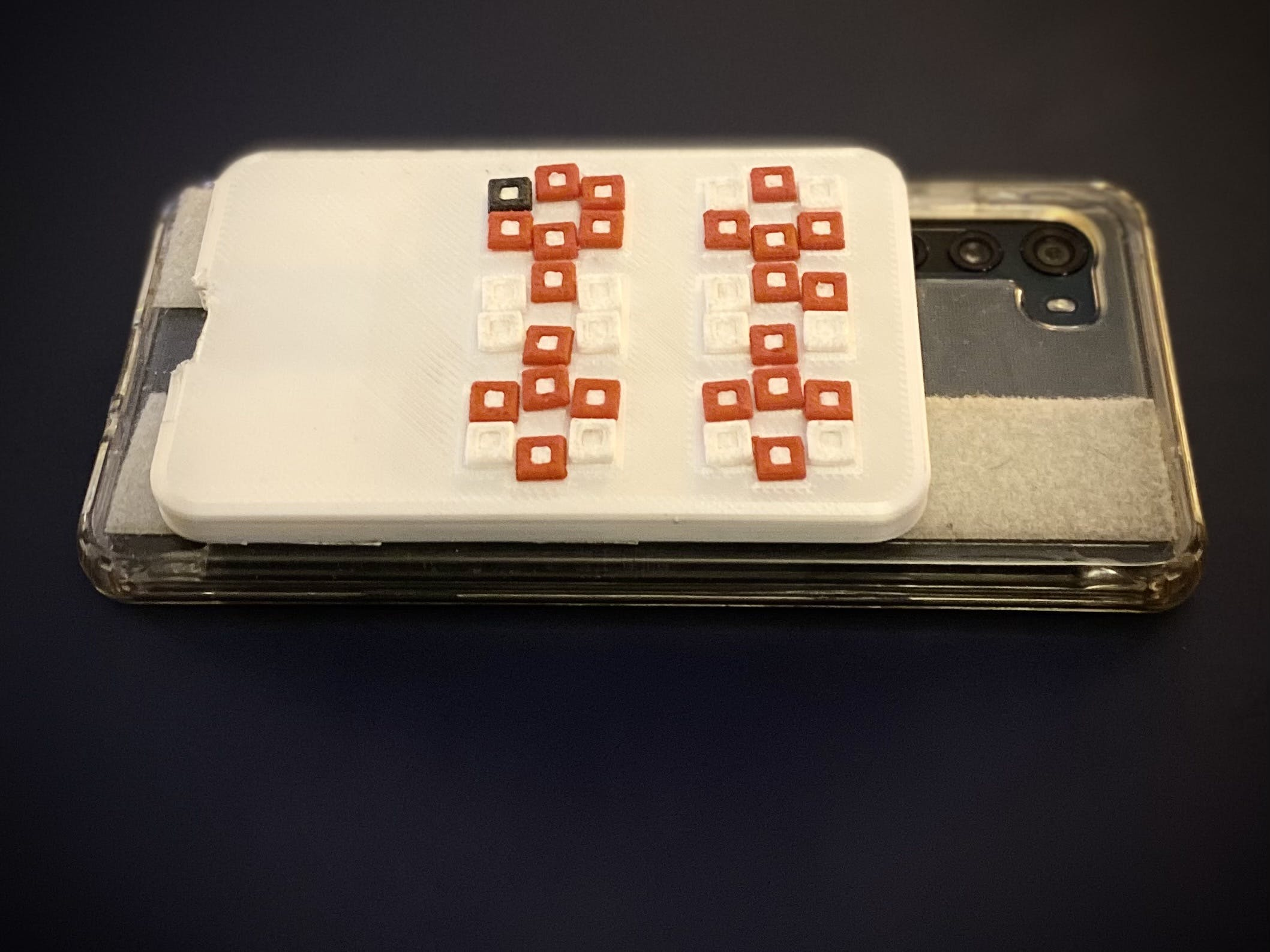The latest iteration of mobile keyboard I've built last month and used to type this post.