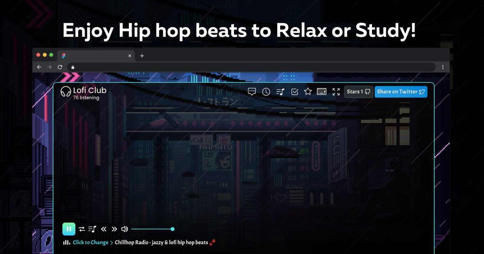 Introducing Lofi Club - Enjoy Hip hop beats to Relax or Code! 🎧