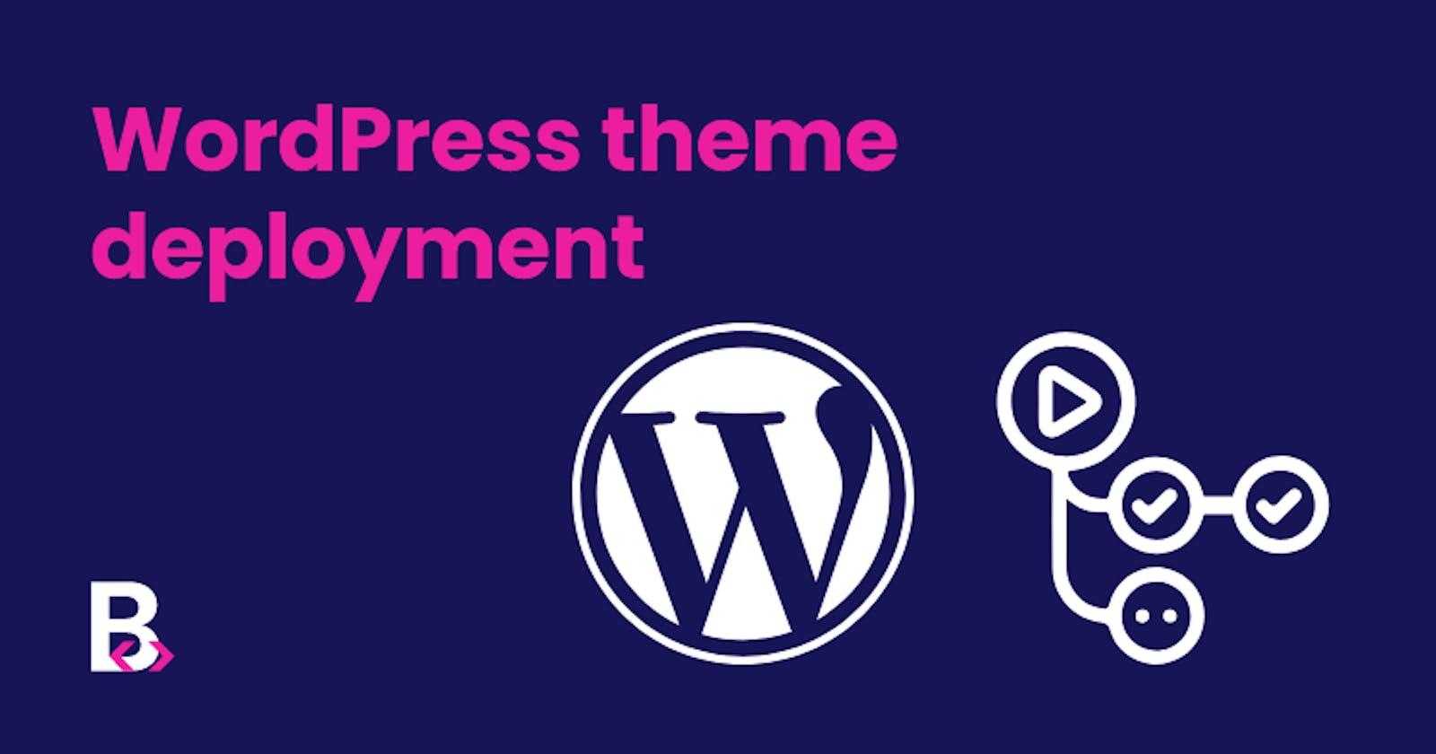 Deploying Sage(WordPress Starter theme) to your host using Github Actions
