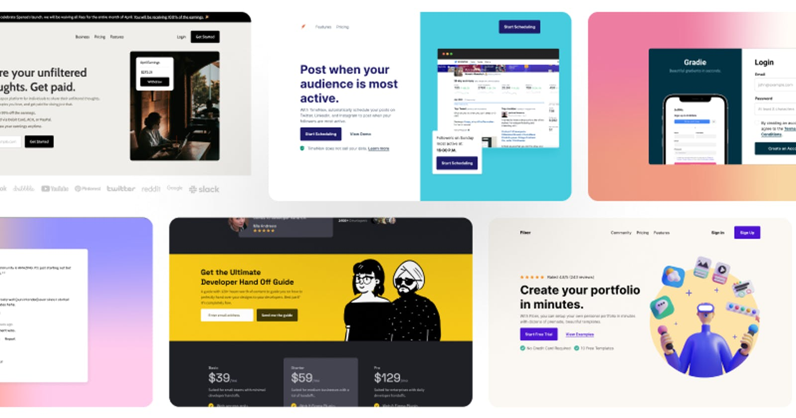 5 Projects with design files to become a better frontend developer 2021