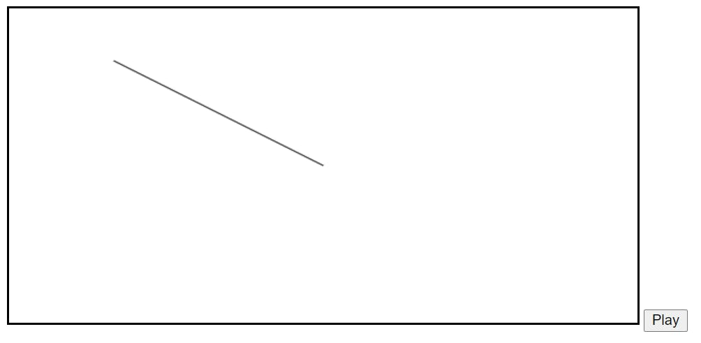 canvas with line